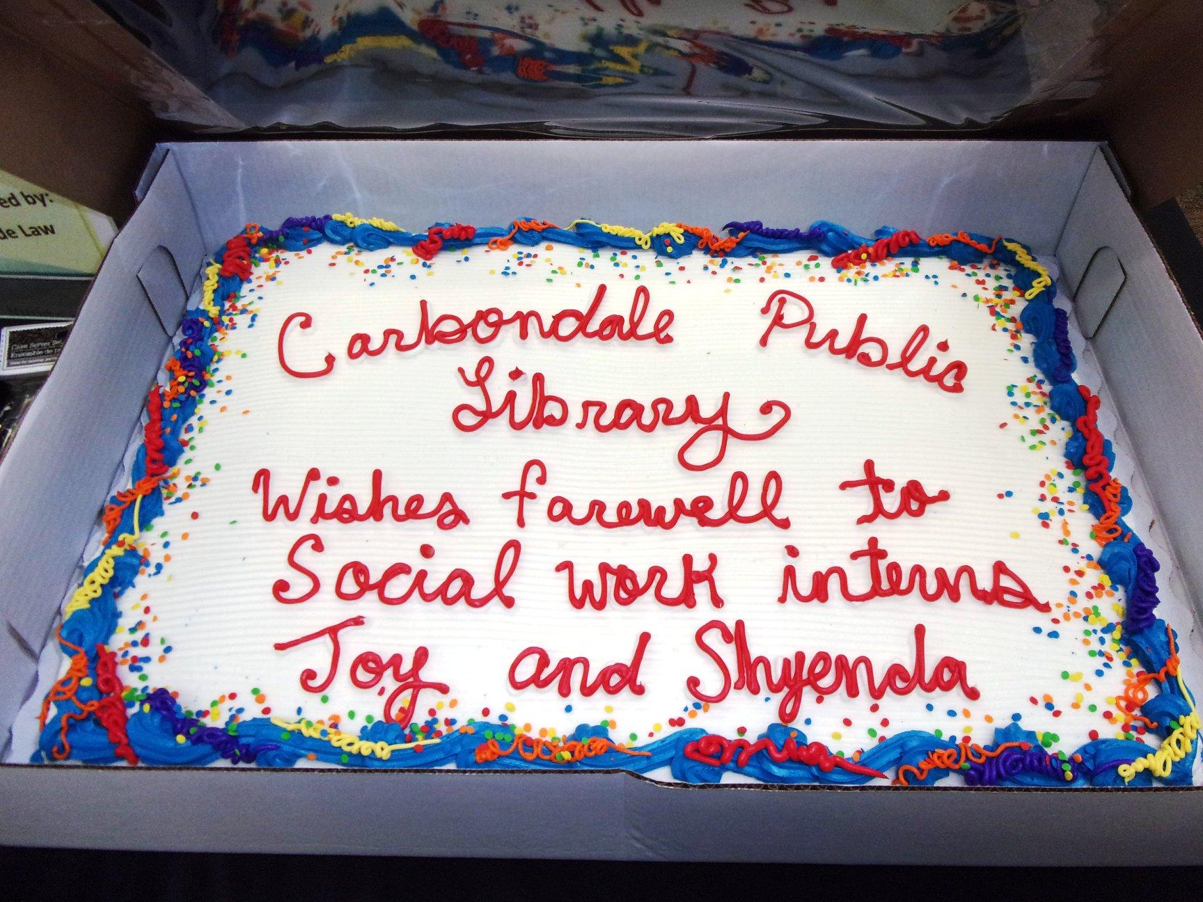 Celebrating interns
